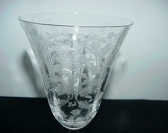 Cambridge Roselyn Low Water Goblet