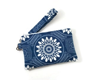 Wristlet Wallet / Cell Phone Clutch / Wristlet with Removable Strap