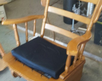 Refurbished Early American Rocking/Pivot Chair