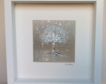 Tree of Life Wall Art with Chuppah Glass