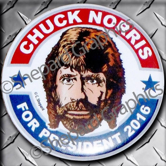 6 pack chuck norris for president 2016 by shepardgraphics. Black Bedroom Furniture Sets. Home Design Ideas