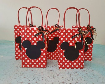 12 Goody bags mickey mouse