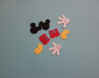 mickey cutouts