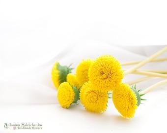 Dandelions - Polymer Clay Flowers