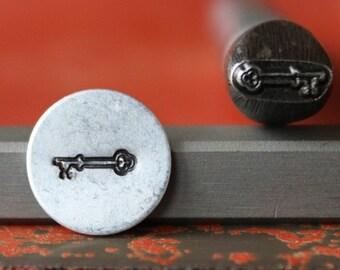Key Metal Design Stamp Perfect for Metal Stamping and Jewelry Design Metal Work  SG375-28