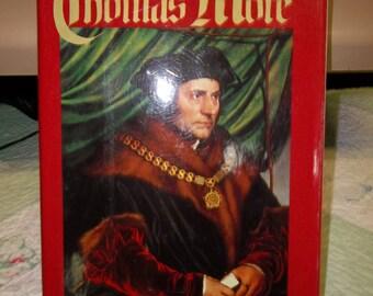 Vintage Book Thomas More by Richard Marius, Tudor Period, ca 1984, 417S