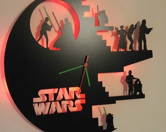 Limited Edition!! Star Wars Light Clock