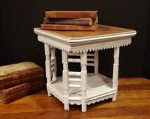 Vintage Table Top Stand / Pedestal / Miniature Table / Display / Etagere