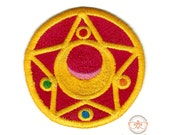 Sailor Moon Compact Inspired - Iron-on Patch