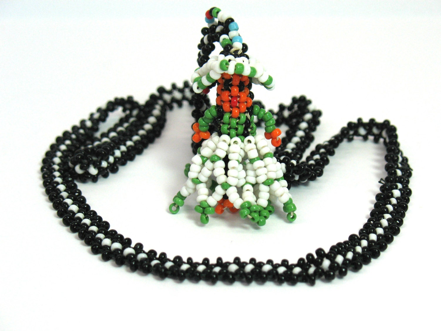 american beaded necklace glass beaded necklace mexican