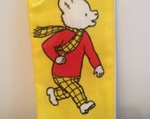 Rupert the Bear pencil case