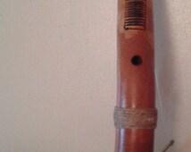 African-style kazoo & rasp combo         FREE DOMESTIC SHIPPING