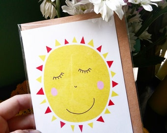 Greeting Card - Sunshine