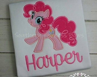 My little pony pinkie pie Embroidered shirt