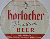 DMu1945 - One Vintage Horlacher Brewing Company (1933-1978) Premium Beer Label
