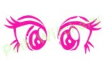 Pony Eyes, Doll Eyes, SVG Pony Eyes, SVG File, Cricut SVG, Eyes, Anime Eyes, Svg Anime Eyes, Pony Eyes Svg File for Cricut