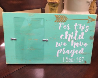 Distressed baby/child frame