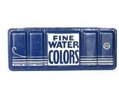 Vintage Watercolor Set - Watercolor Tin Paintbox - Vintage Paints - Watercolor Box - Vintage Tin Box -Milton Bradley - Vintage Art Supplies