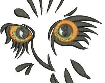 Owl Eyes Embroidery | Etsy