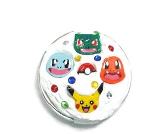 Original 150 Starter Pokemon Decoden Mirror