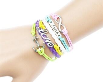 Colorful funky bracelet