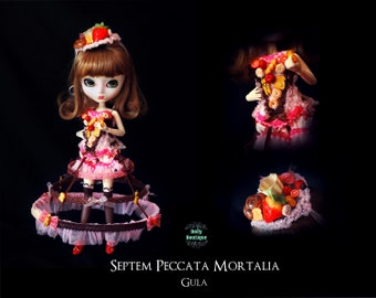 Pullip Doll Outfit Septem Peccata Mortalia GULA