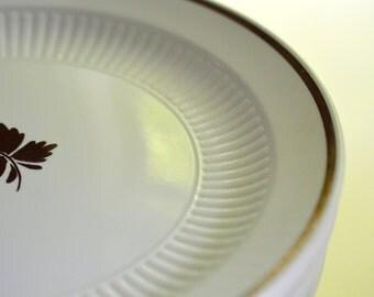 Ironstone Luster Old Tea Leaf Dinner Plates Set of 10