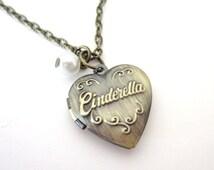Cinderella amulet necklace