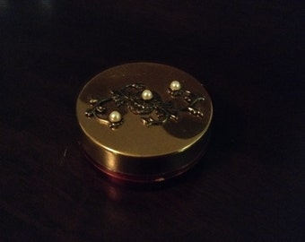 Vintage Pillbox with built in cup