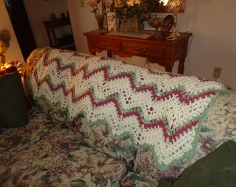 Irresistible Ripple Afghan