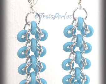 05 Chain Maille earrings - Chainmaille earrings