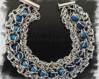 Chain Maille bracelet, Chainmaille bracelet
