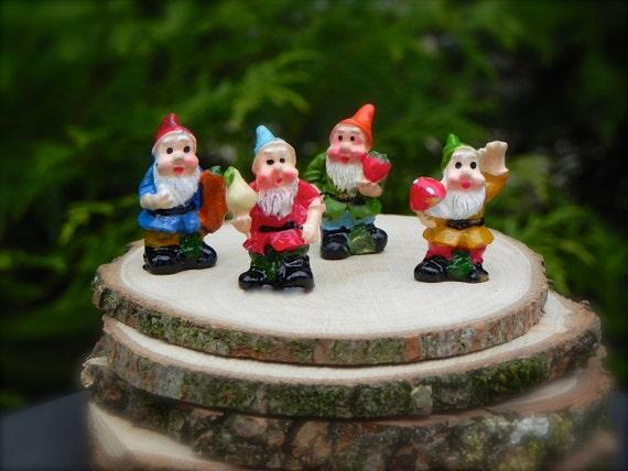 Gnome Garden: Miniature Gnomes Miniature Fairy Garden Accessories