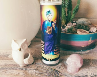 Saint David Lynch // Twin Peaks Prayer Candle