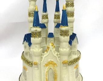 Birthday Fairy Tale Castle Cake Topper Centerpiece Decoration Keepsake Gift Sweet 16 Wedding