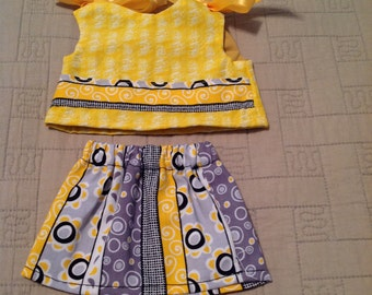 American girl doll clothes, summer, bubbles