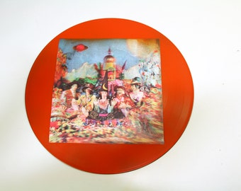 Rolling Stones Vinyl LP Art - 1967's His Satanic Majesties Request Record 3-D Psychedelic Cover Art