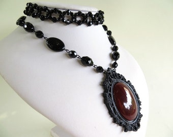 SALE WITH CODE Black Little Gothic Victorian Choker