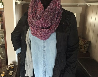 Light Pink Infinity Scarf