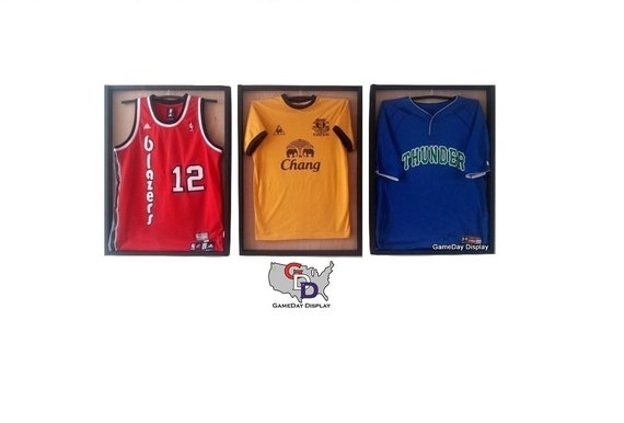 Jersey display case for football, baseball, basketball, hockey, autographed jersey -3- WE