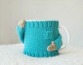 Mug Sweater, in Aqua blue