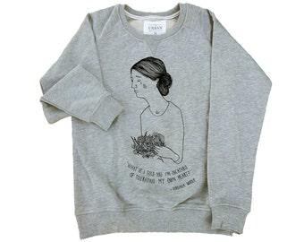 Virginia Woolf Premium Sweatshirt