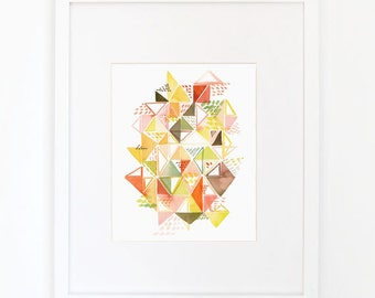 Seedling - Watercolor Art Print
