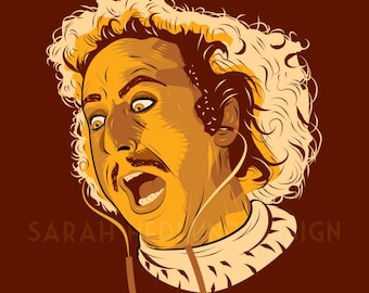 Gene Wilder Young Frankenstein Poster - I'm a scientist!