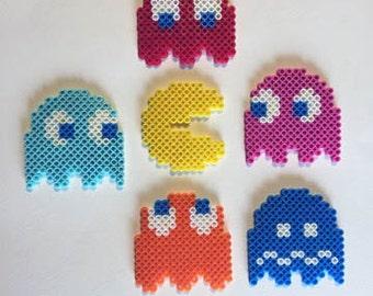 Pac-Man Perler Bead Sprites Pack