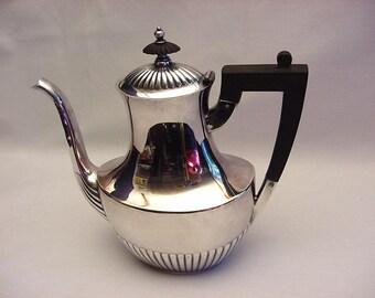 Gorham Queen Anne EPNS Coffee Pot Rare Small Size Vintage 1938 Hollowware Silverplate