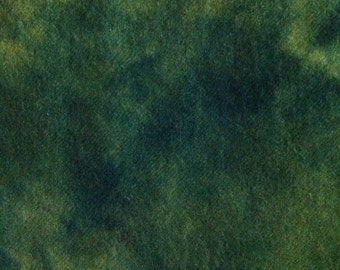 EVERGREEN  hand dyed and felted wool for rug hooking and fiber arts