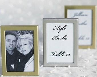 Easel Back Mini Photo Frame - Wedding Place Card Holders - 24 pcs