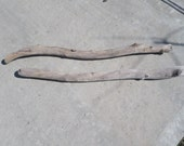 Large Driftwood Pieces - Round Bulk Driftwood - Drift Wood Pieces - 2 Large Driftwood Pieces - Craft Supplies !