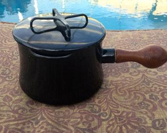 Vintage Black Dansk Kobenstyle Sauce Pan